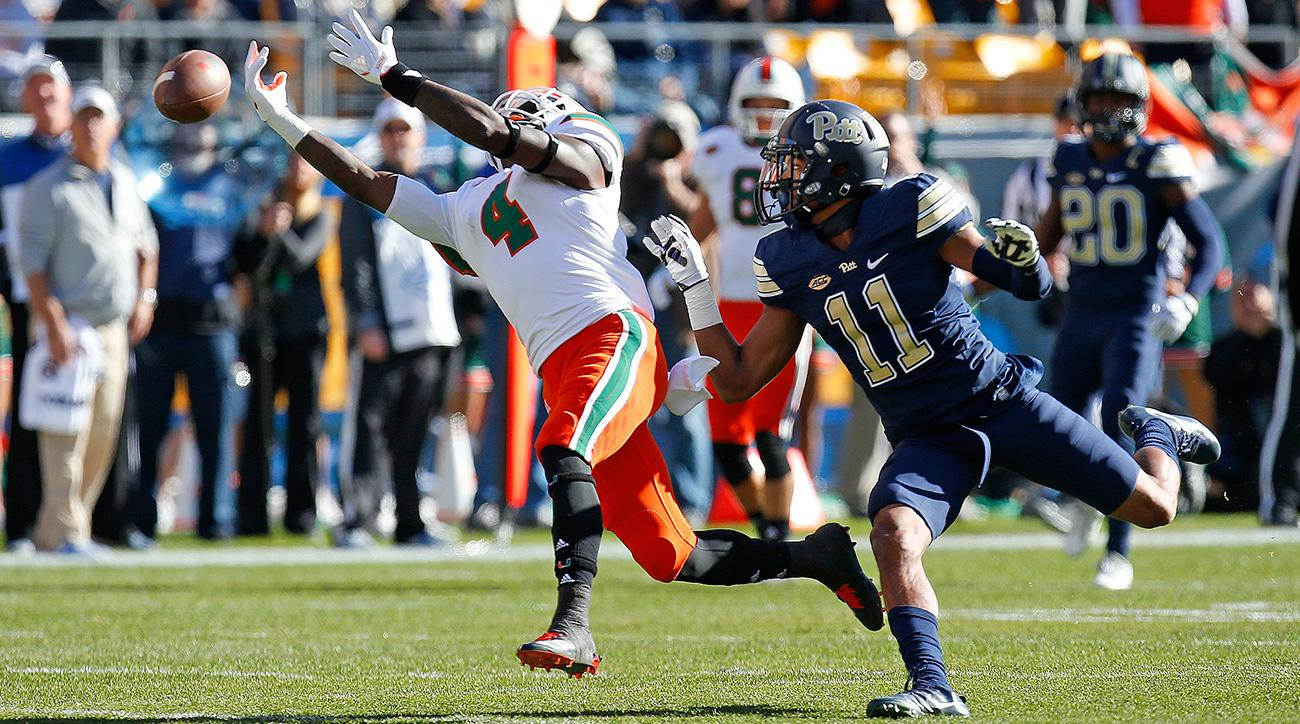 Pitt Upsets Miami Hurricanes Playoff Case Shows Flaws Si Com
