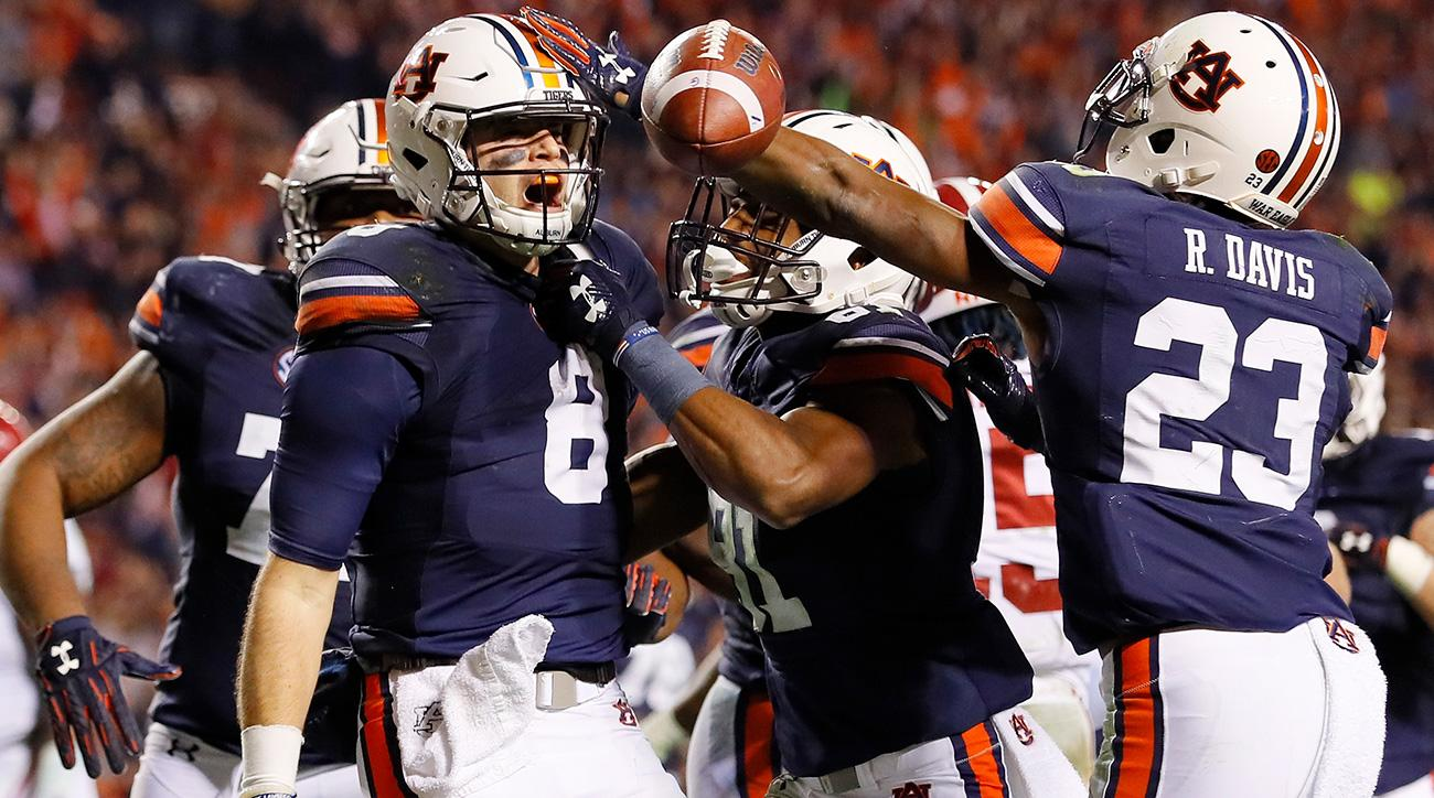 No. 6 Auburn ousts No. 1 Alabama