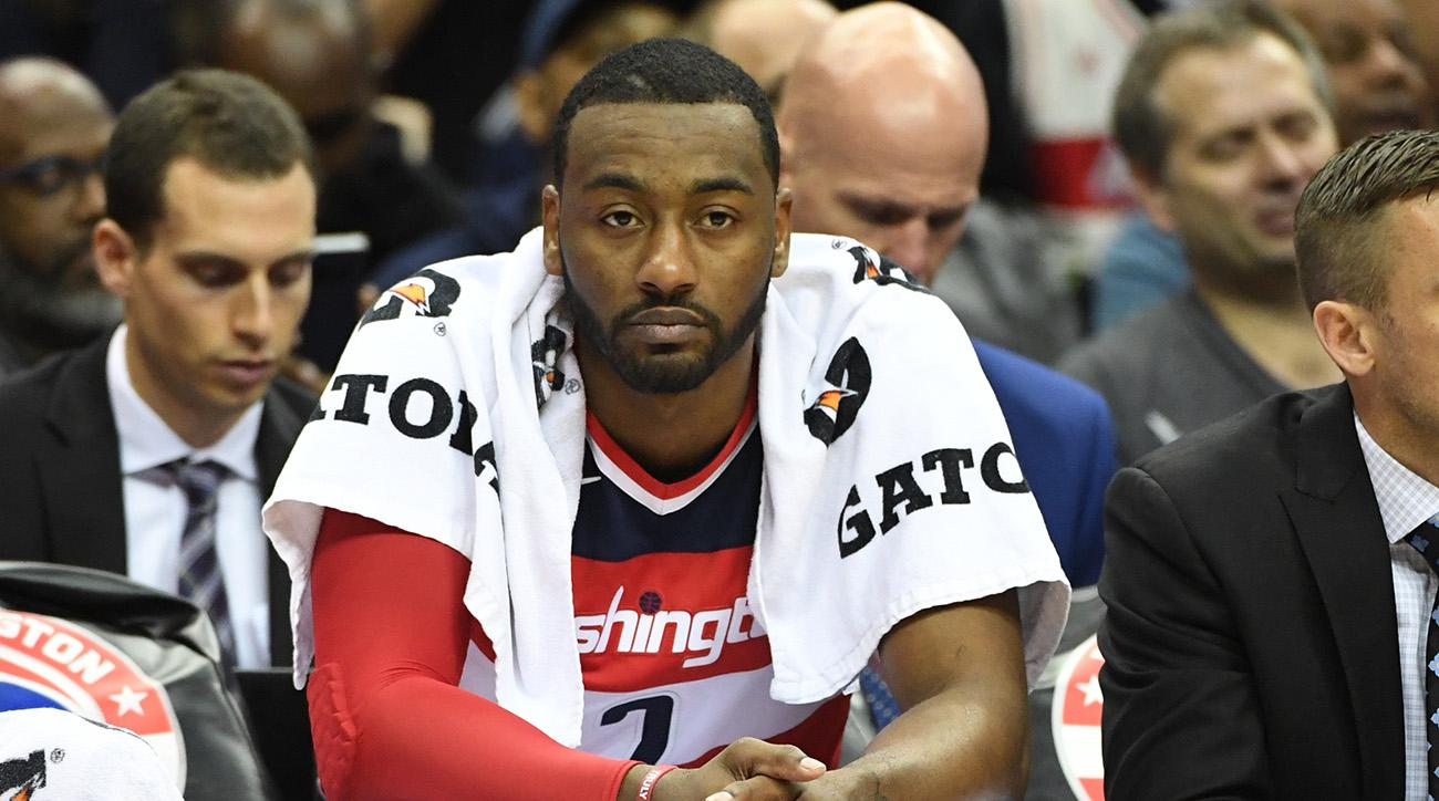 Wizards' John Wall (knee) expected to miss two weeks