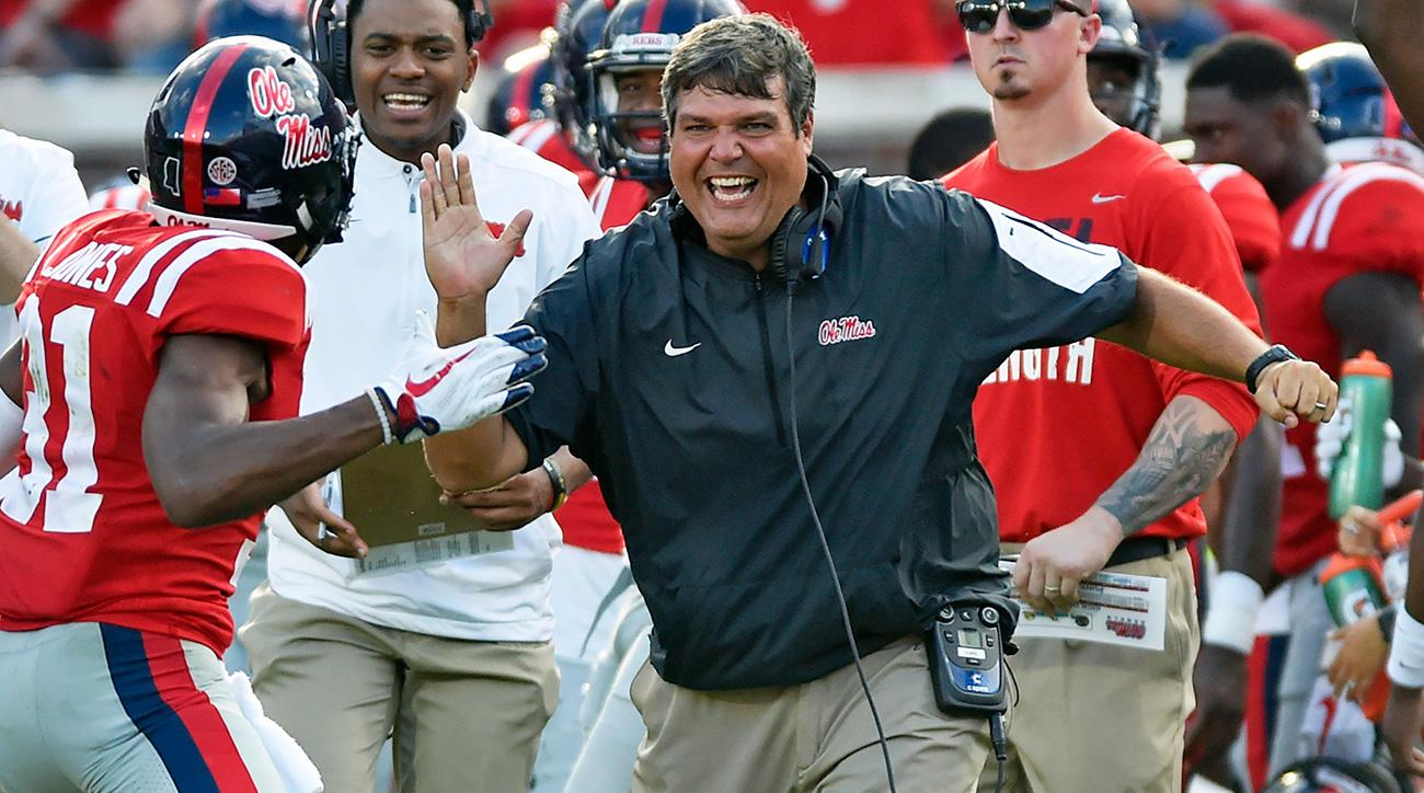 Ole Miss makes Matt Luke permanent head football coach