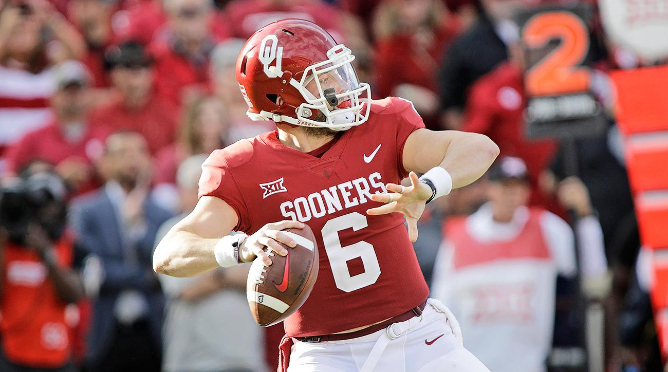 Oklahoma Baker Mayfield
