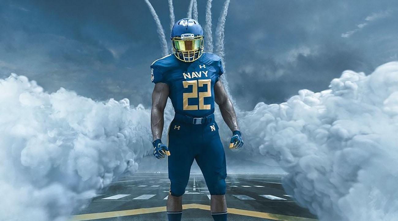 Army Navy Game 2017 Uniforms >> Navy to wear special 'Blue Angels' uniforms vs. Army | SI.com