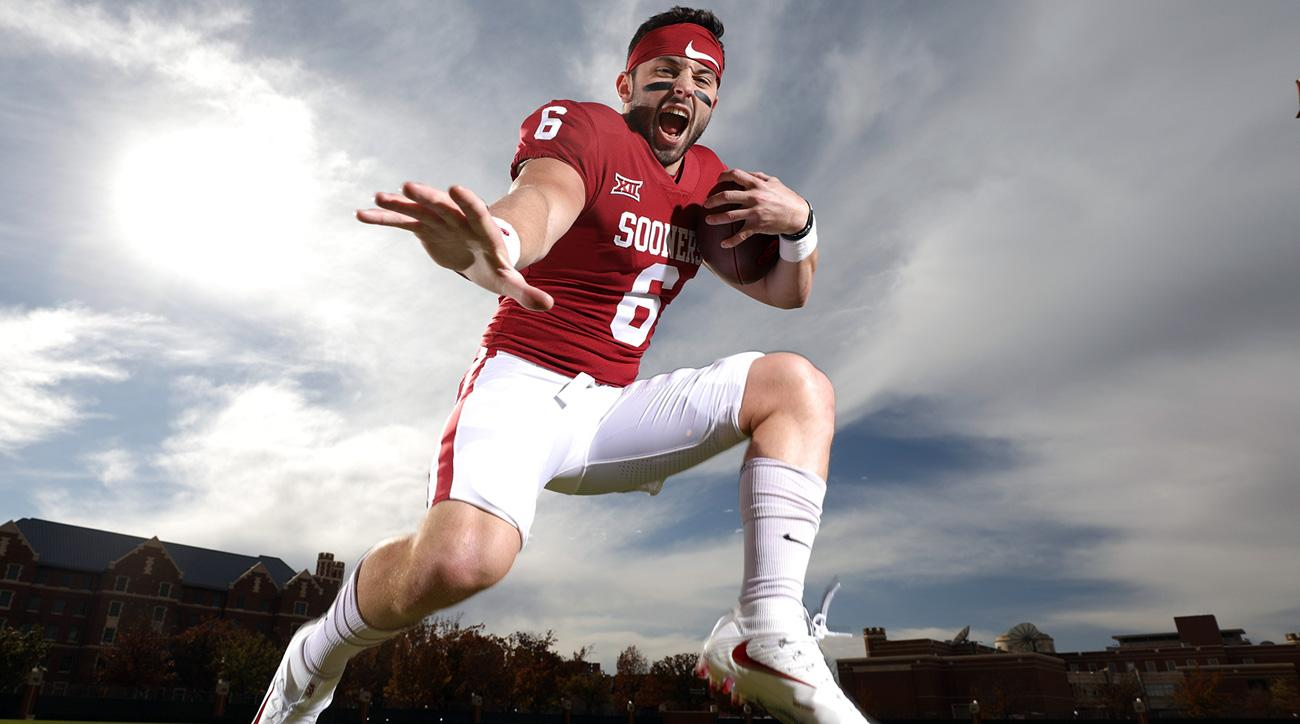 official photos 831a3 b7bbf Baker Mayfield: Polarizing Oklahoma QB set for Heisman ...