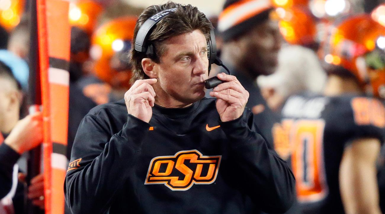 Oklahoma State's Mike Gundy is out of the UT coaching search