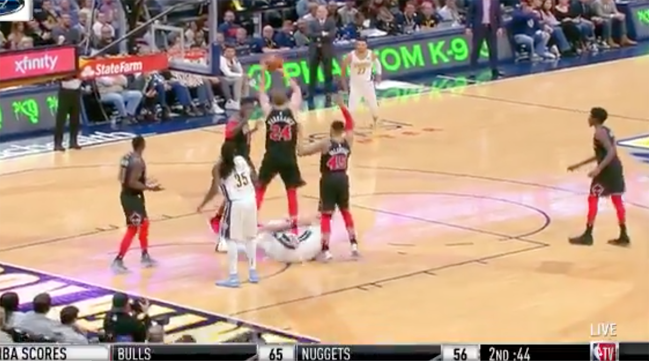 Nuggets' Barton hits game-winning shot against Bulls