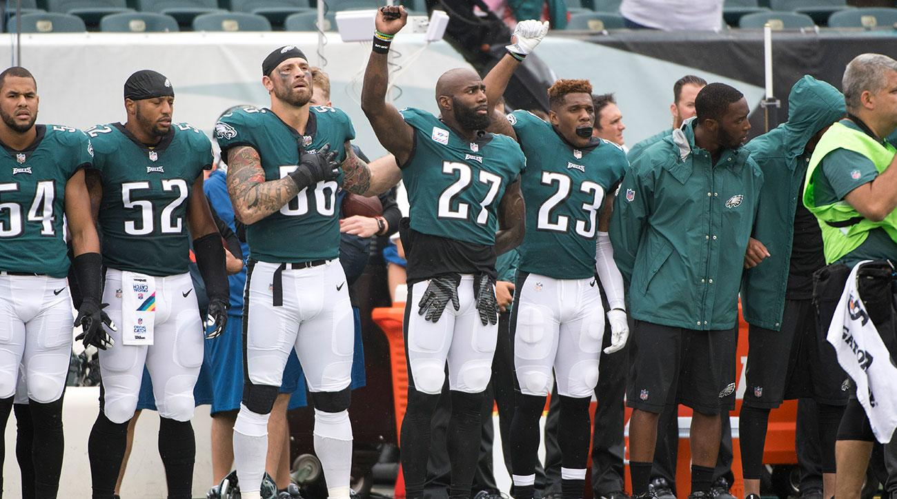 Malcolm Jenkins won t raise fist during national anthem