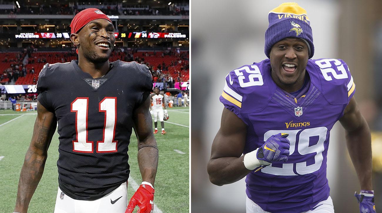 NFL Week 13 Julio Jones Xavier Rhodes Vikings Falcons