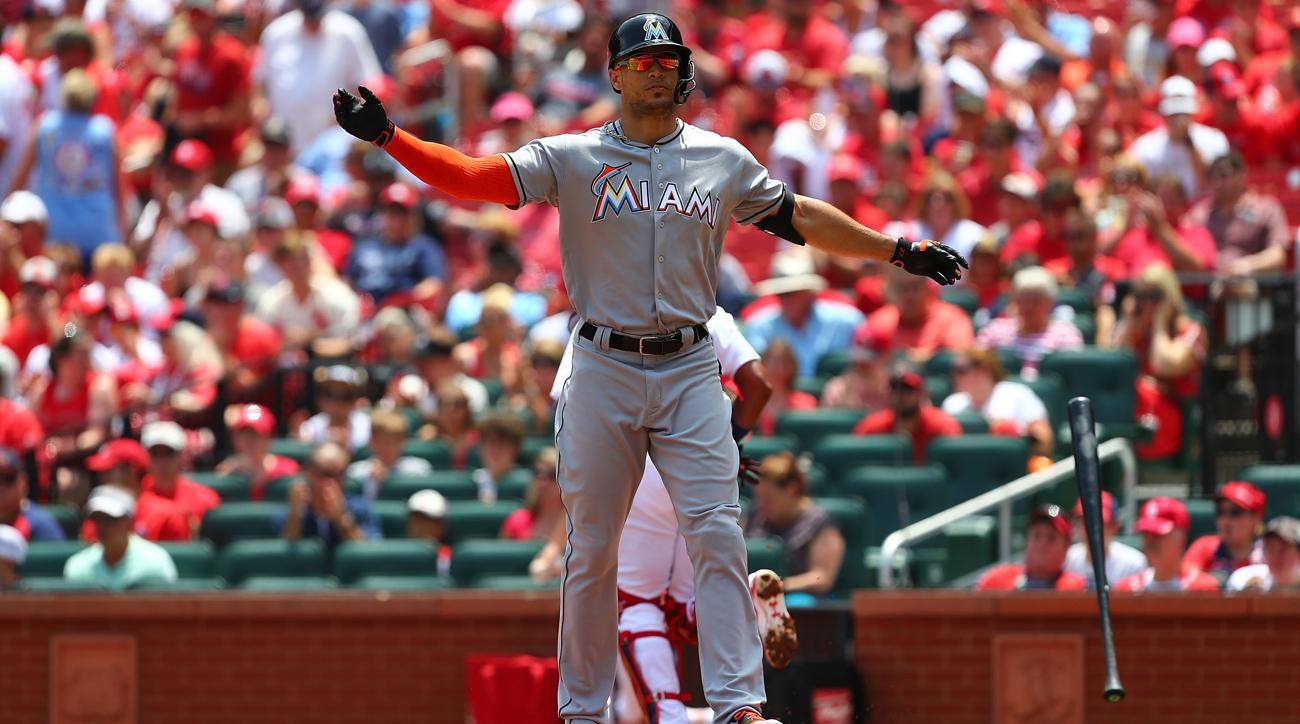 MLB Rumors: Giancarlo Stanton 'Unlikely' To Accept Trade To Cardinals