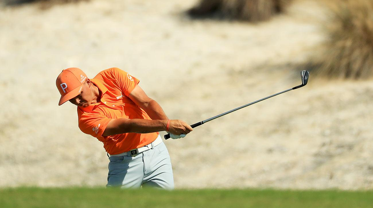 Rickie Fowler reeled off seven straight birdies to start his final round at the Hero World Challenge.