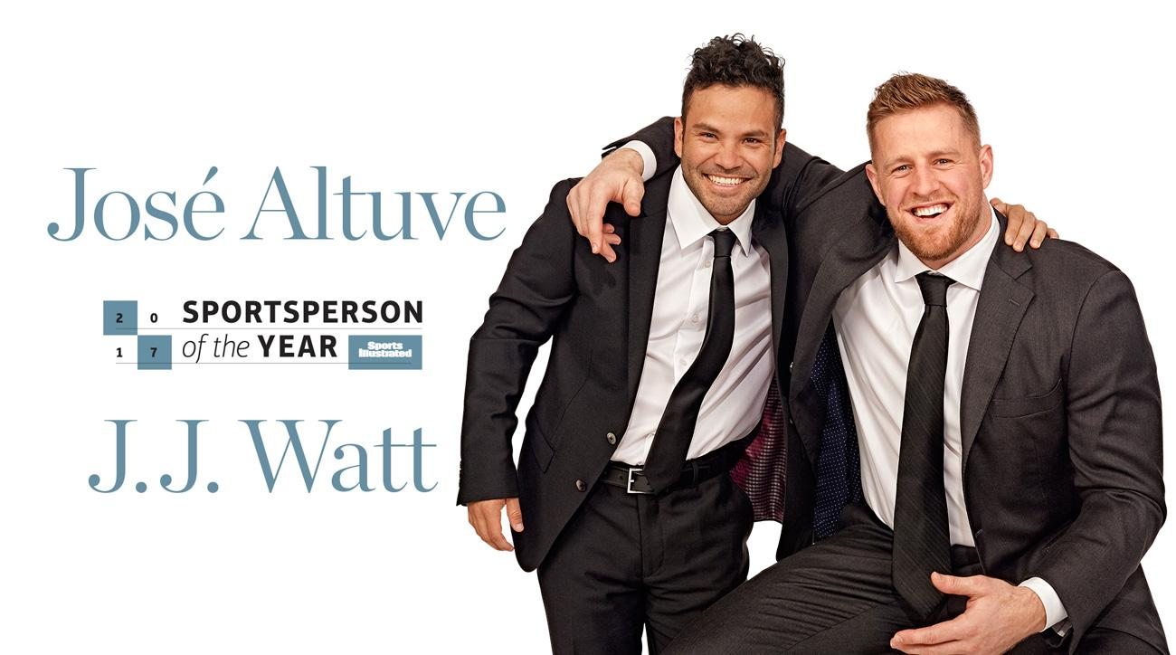 Texans' JJ Watt, Astros' Jose Altuve share SI award — Sportsperson of Year