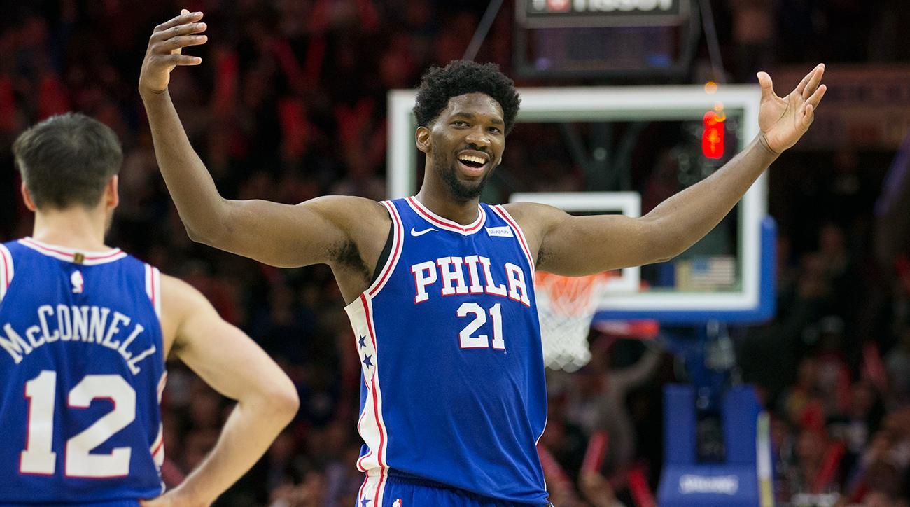 Joel Embiid, Philadelphia 76ers, Rising Star award