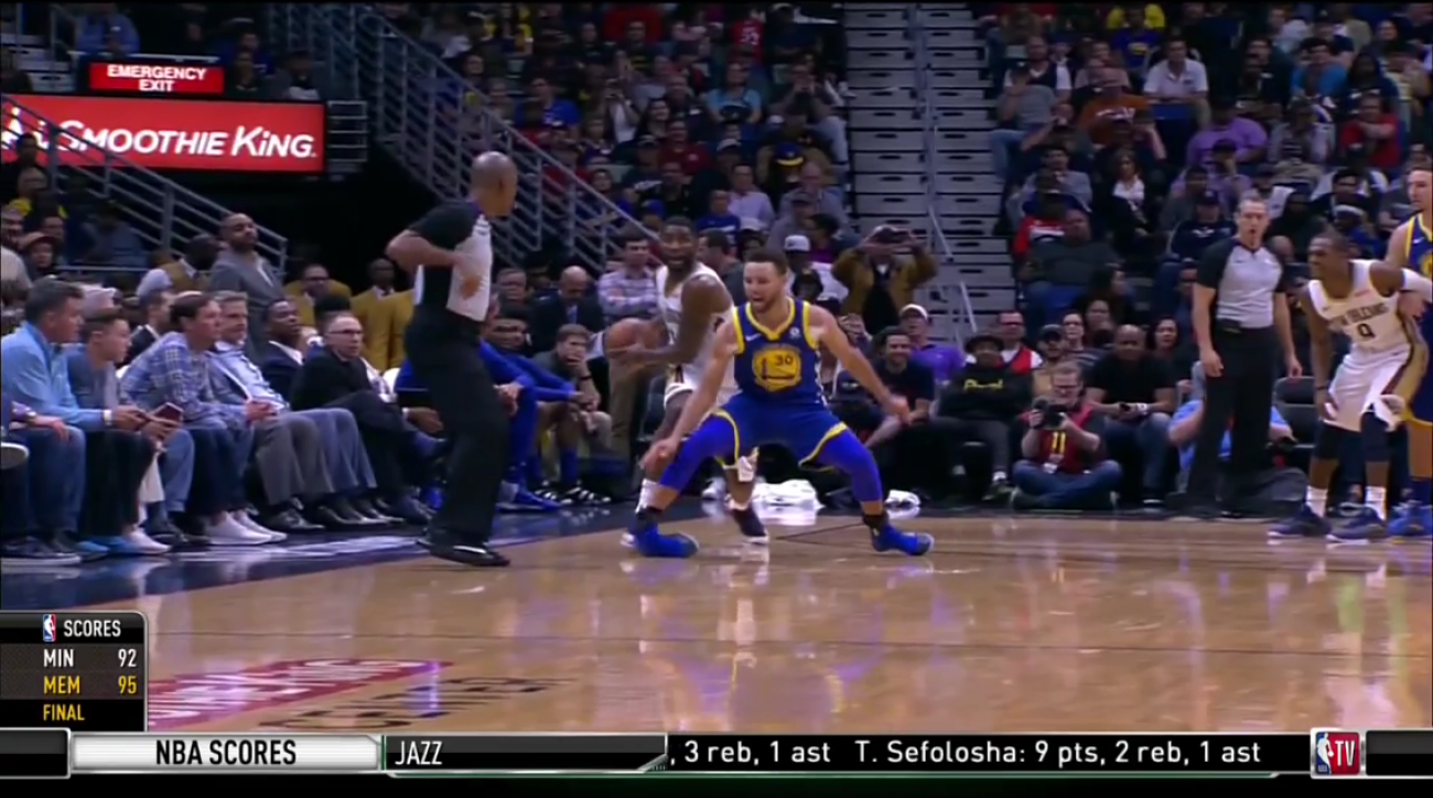 Steph Curry to undergo MRI on right ankle
