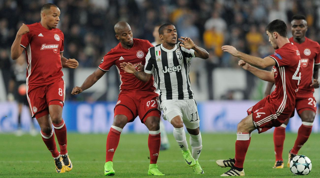 Champions League: Juventus clinch Champions League knockout place with win in Greece