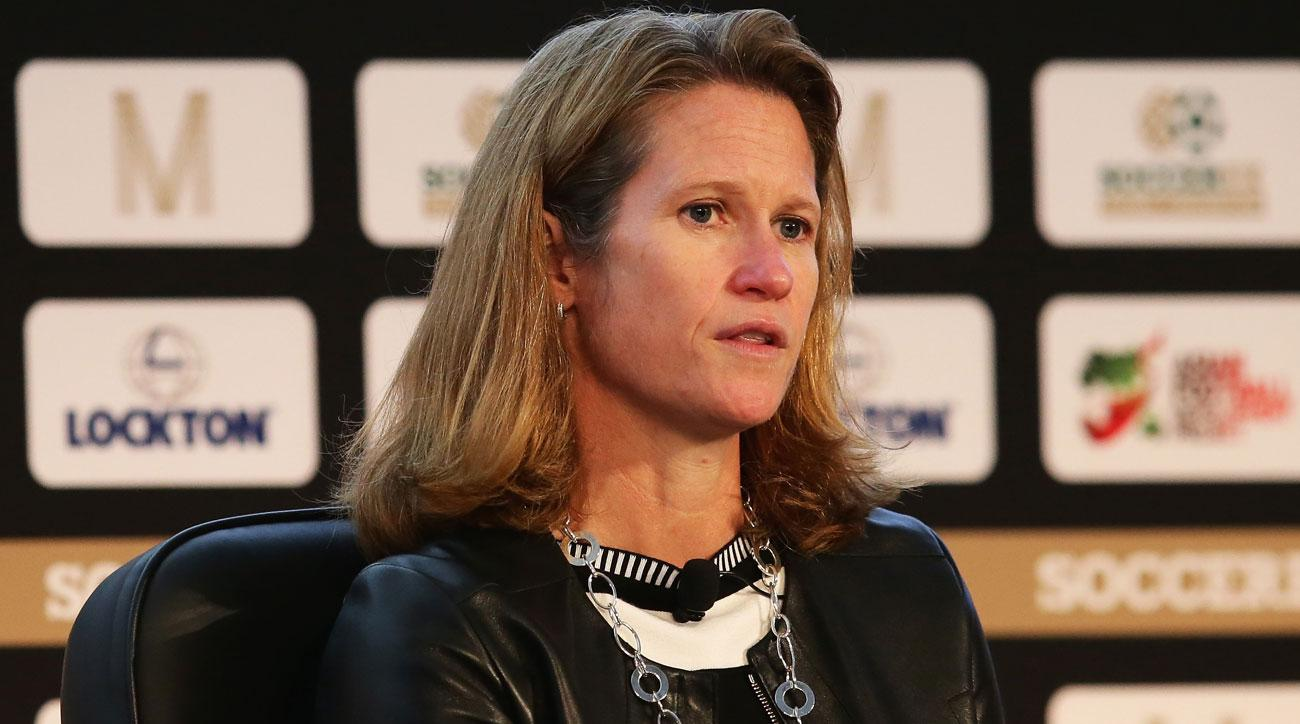 Kathy Carter is running for president of U.S. Soccer