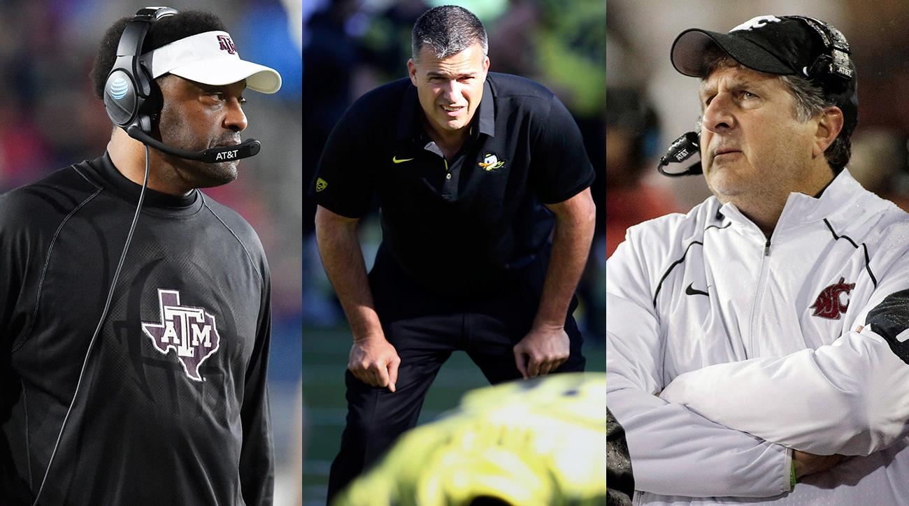 Oregon coaching search candidates: Mario Cristobal, Kevin Sumlin, Mike Leach