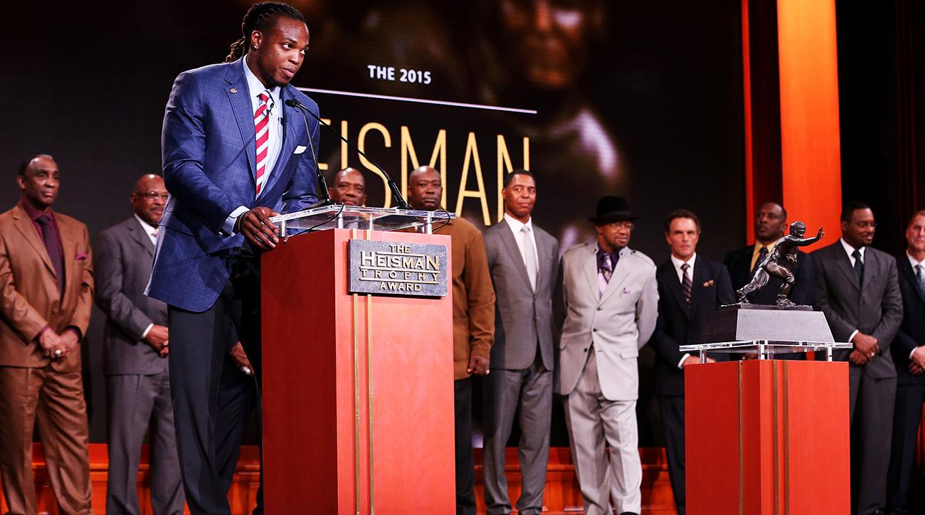 Heisman Trophy past winners: Eric Crouch, Tim Brown protest ceremony
