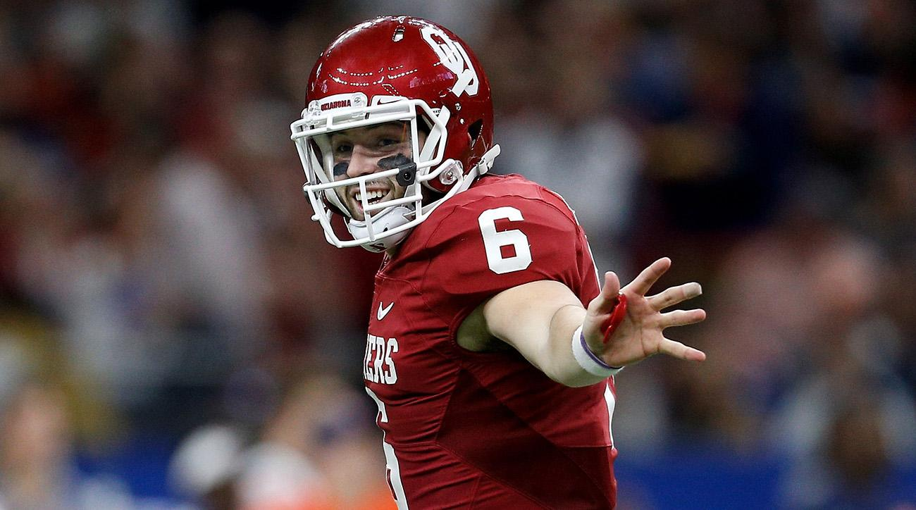 Oklahoma's Baker Mayfield wins the Heisman Trophy