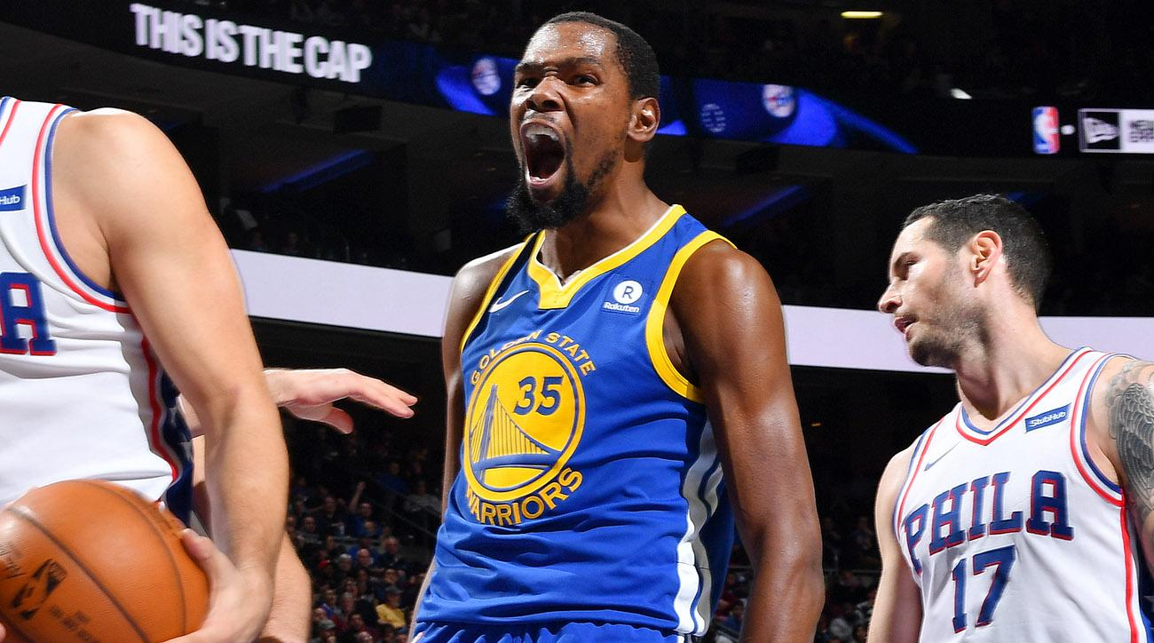 Kevin Durant Mutter mvp