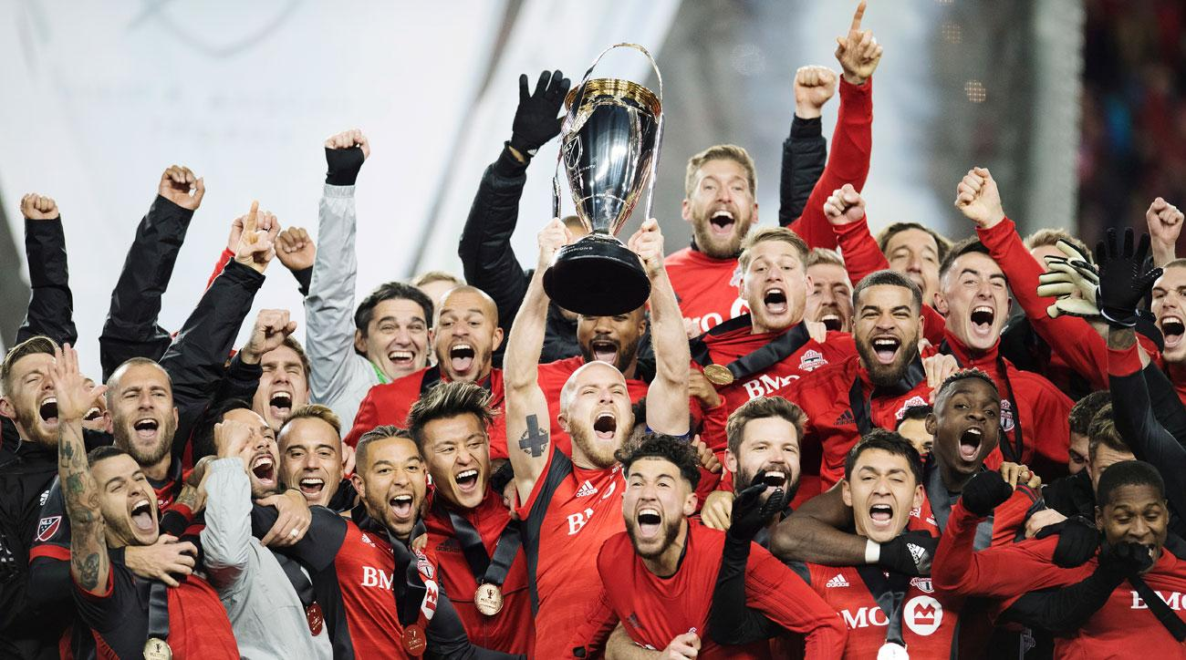 Toronto FC beats the Seattle Sounders to win the 2017 MLS Cup title