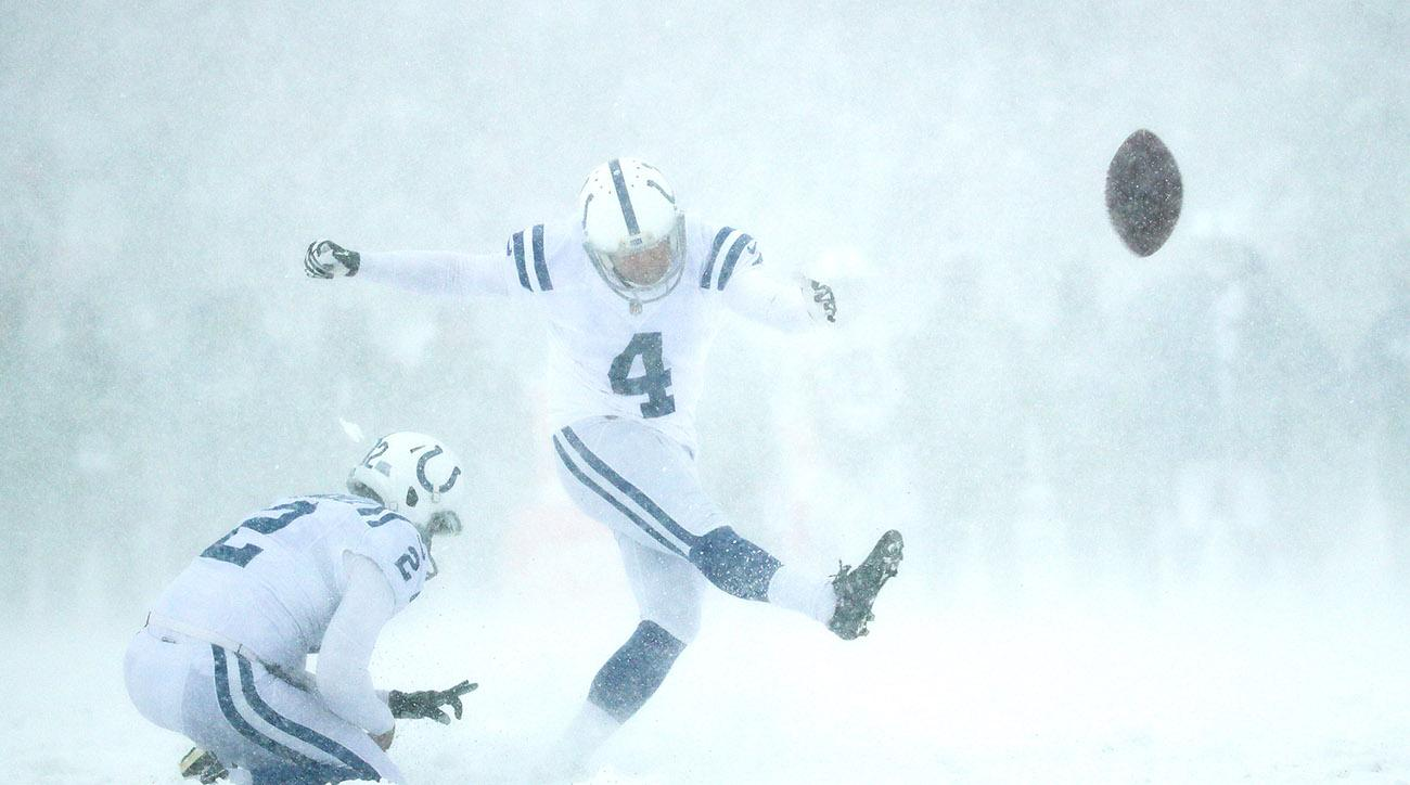 Seven of the craziest moments from the Bills-Colts snow game