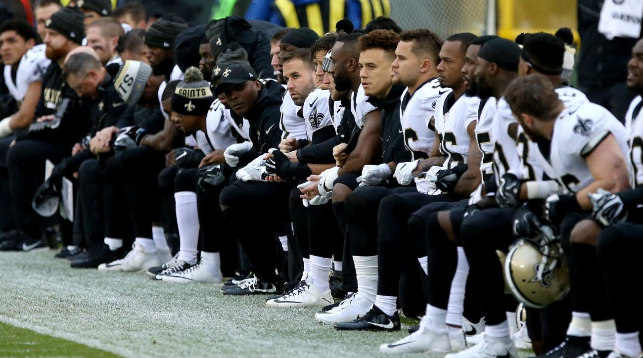 Saints ticket holder sues club, seeking refund over players' protest