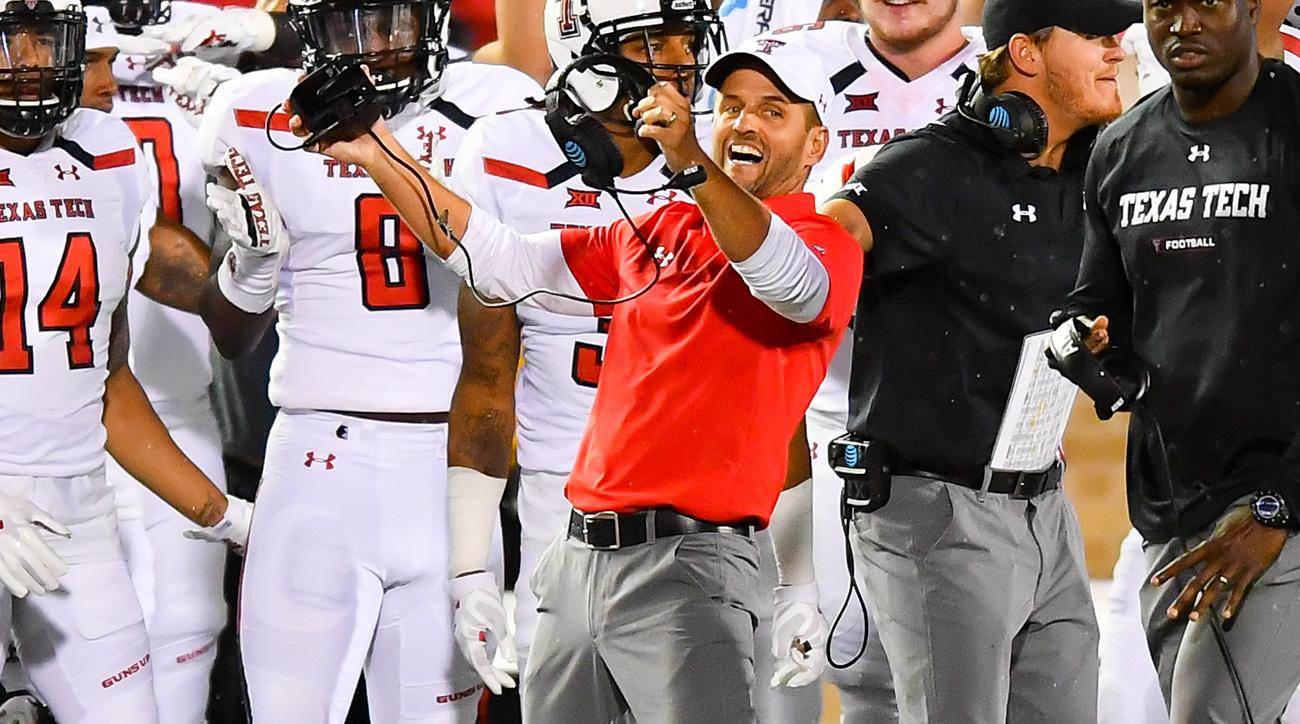 David Gibbs Signs Contract Extension With Texas Tech