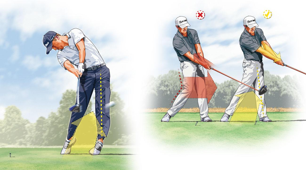 Leverage the ground for more power off the tee