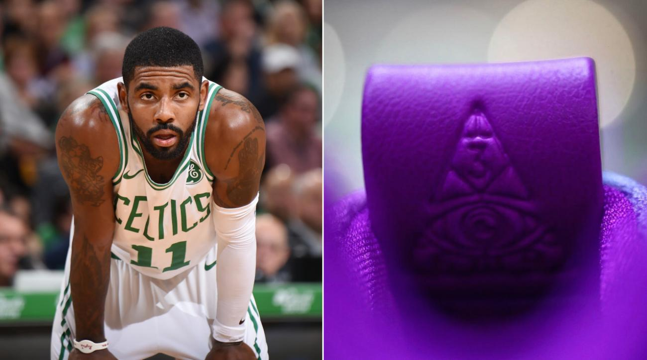 Kyrie Irving 4 sneaker has 'All Seeing Eye' (photos)