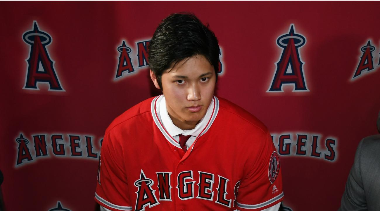 Major League Baseball to study Ohtani's physical leak