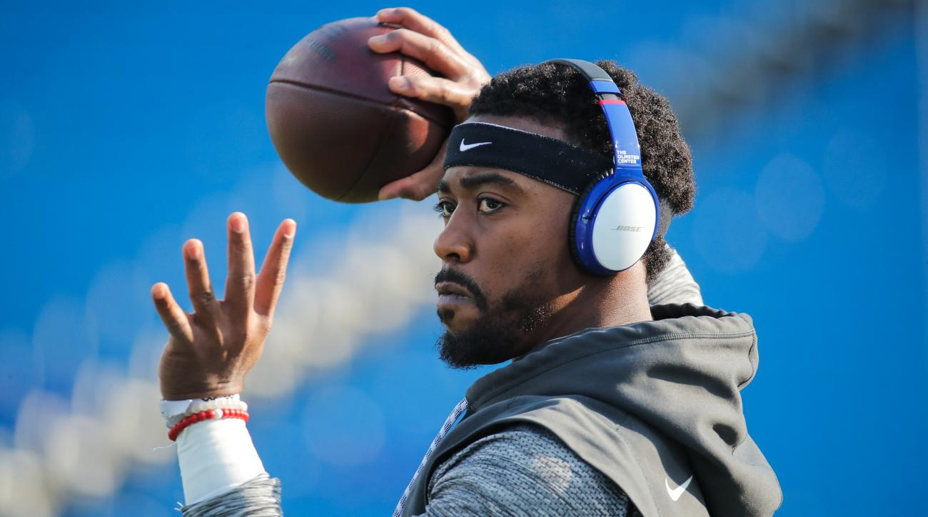 Tyrod Taylor practicing, will start if he's healthy