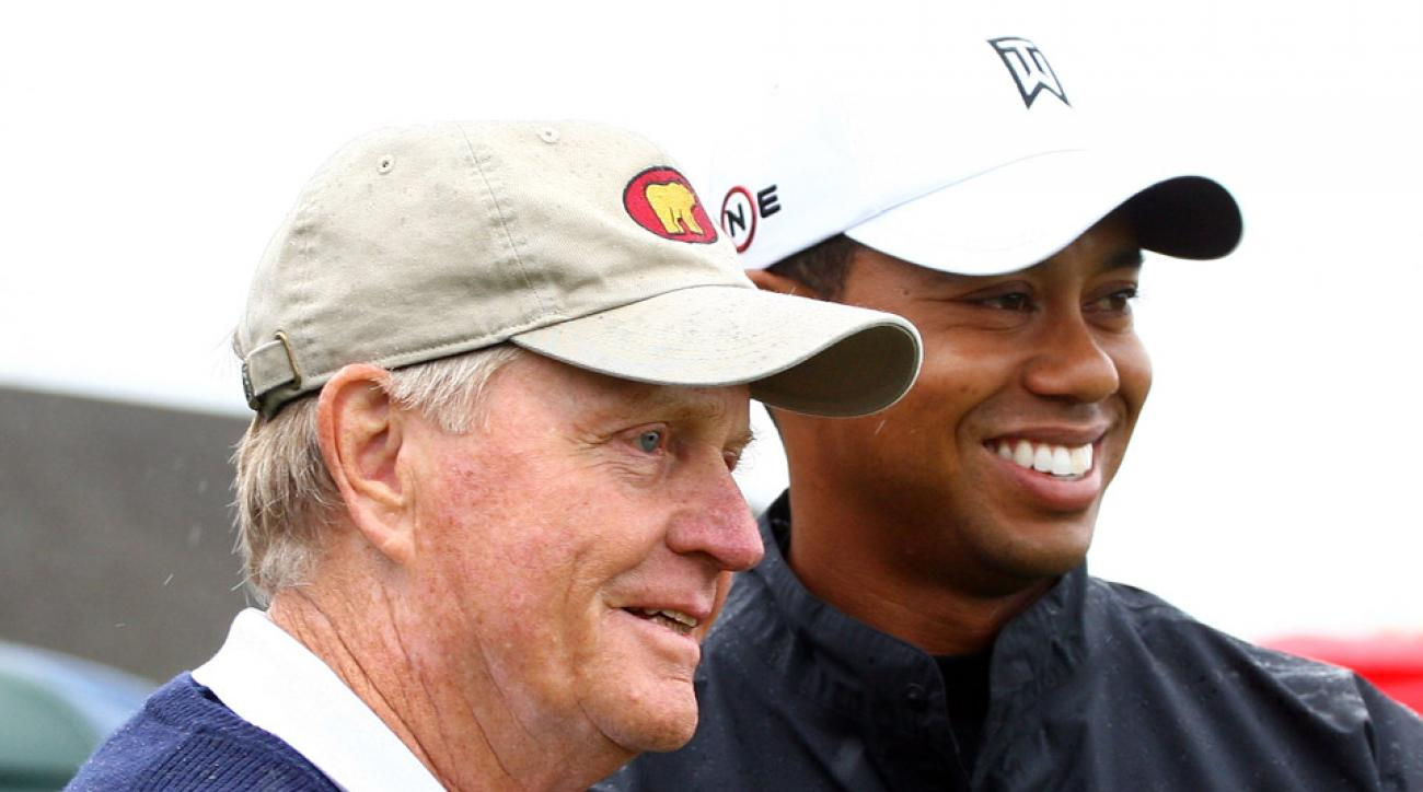 Jack Nicklaus says he wishes Tiger well, but he's 'not interested at all' in watching his comeback.