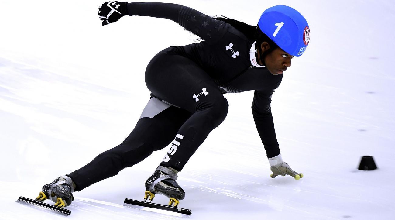 Maame Biney qualifies for US Olympic speedskating team