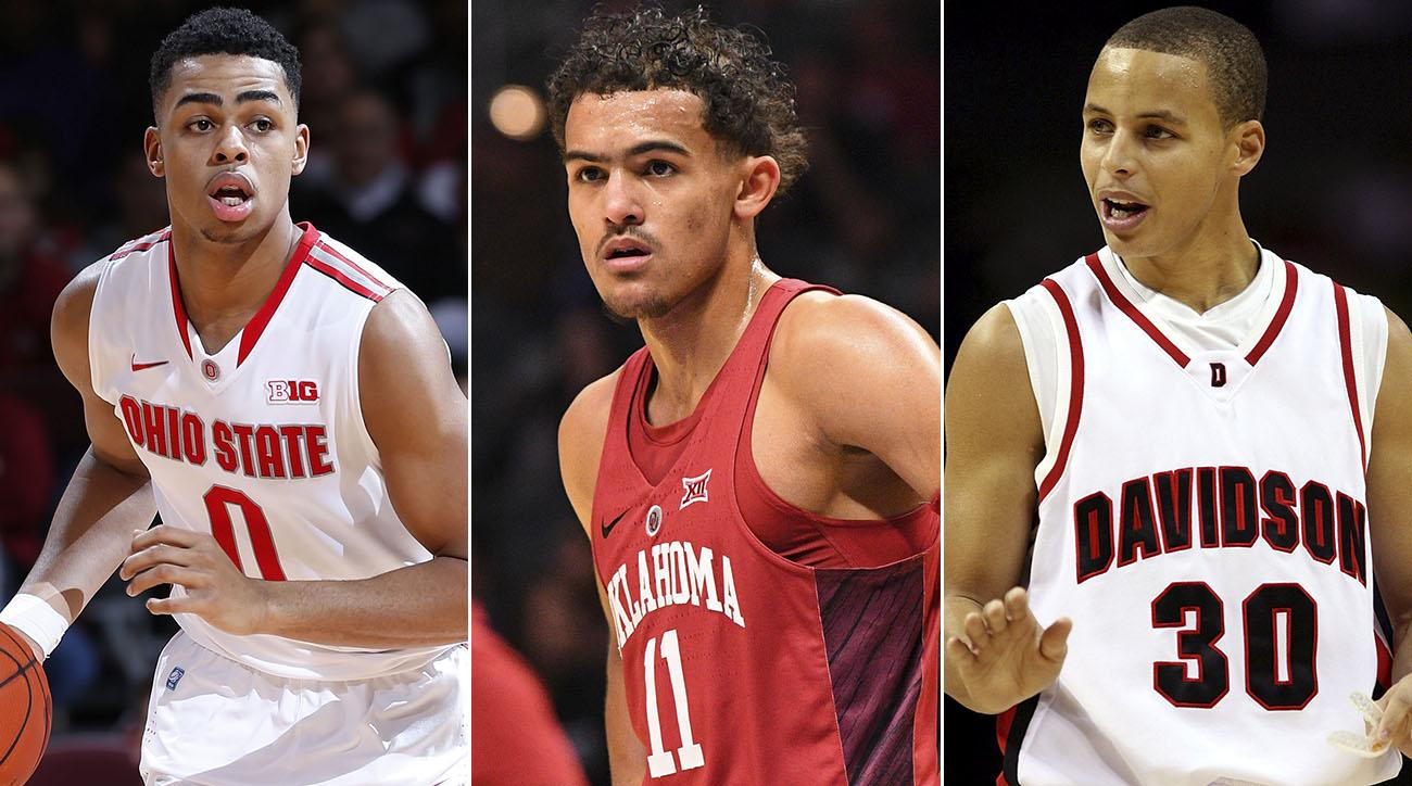 NBA Draft Dispatch  Trae Young Drawing Stephen Curry Comparisons ... 4f44cfbbc