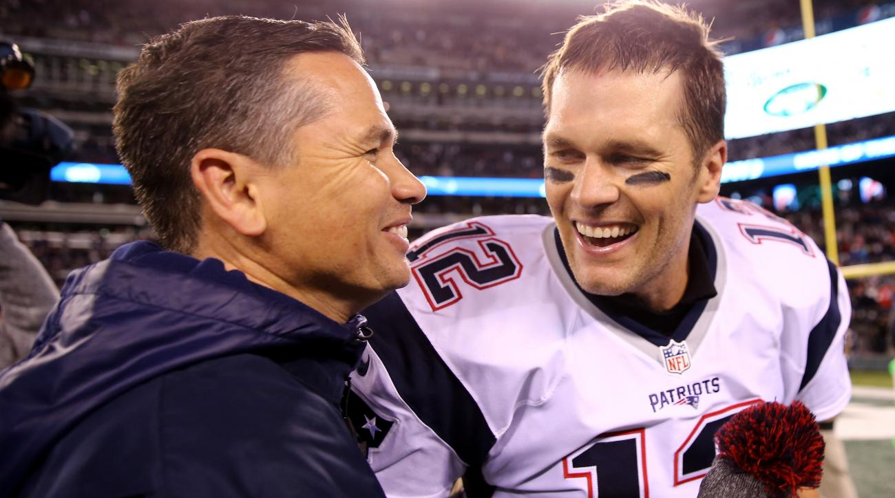 Patriots ban Brady's trainer from plane, sideline