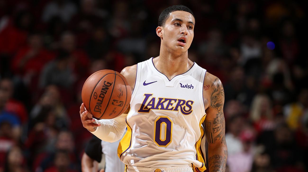 Kuzma Scores 38 as Lakers Break Houstons 14Game WinningLakers