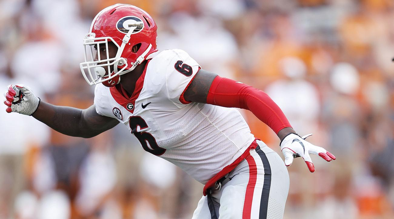 UGA starting LB Natrez Patrick entering treatment for 'personal issues'