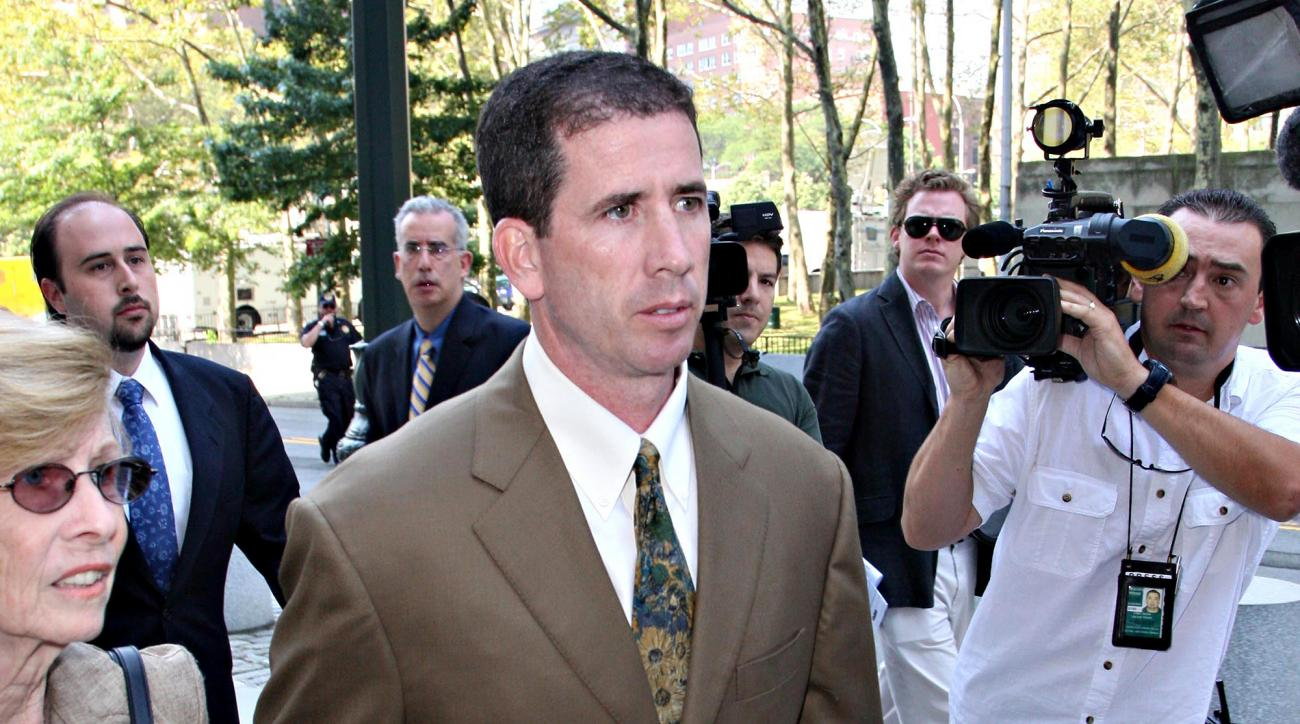 Former NBA ref Tim Donaghy was arrested in Florida for aggravated assault.