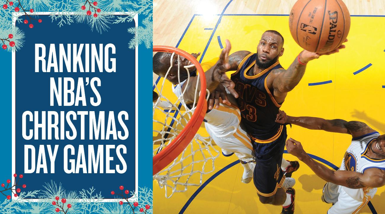 from warriors cavs to worst ranking christmas day games sicom - Christmas Day Games