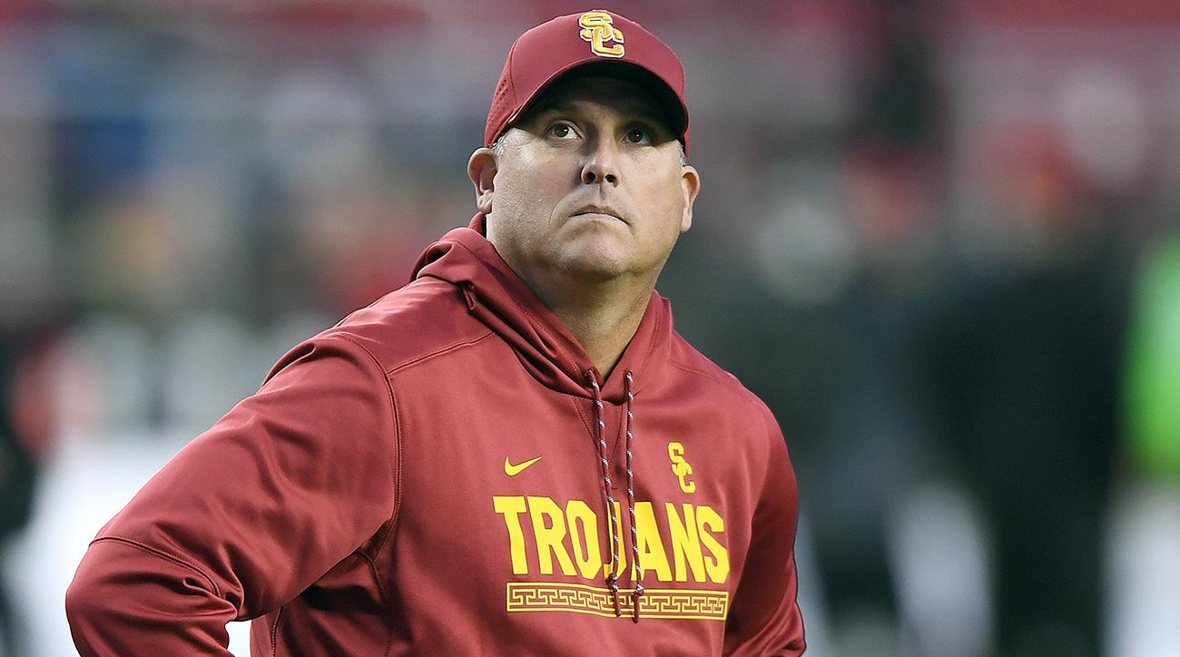 Clay Helton: How USC Trojans head coach helped a fan with cancer