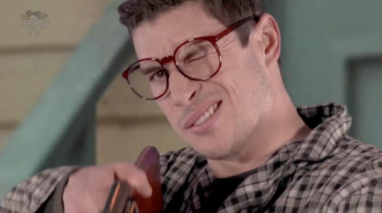 Penguins holiday video: 'A Christmas Story' spoof