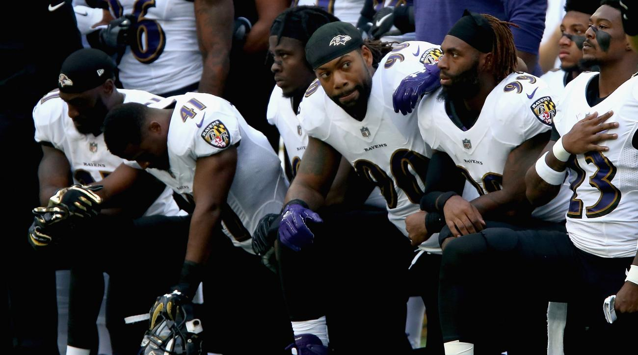 Ravens President Blames Empty Seats On Anthem Protests