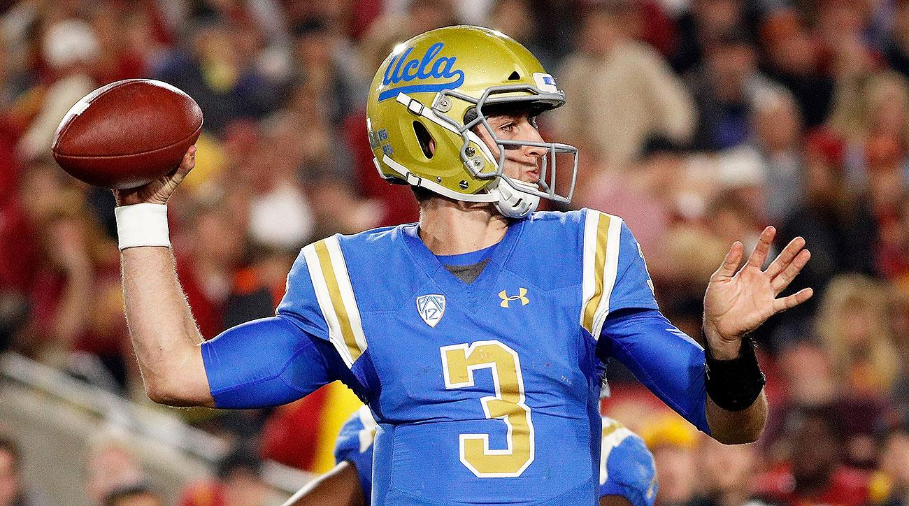 UCLA quarterback Josh Rosen remains questionable for Cactus Bowl game against K