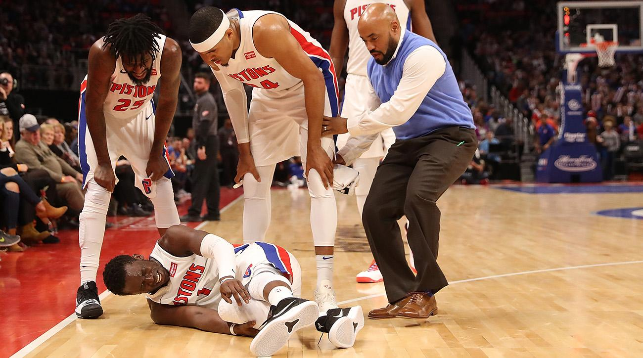 Pistons PG Jackson out 6-8 weeks with ankle injury