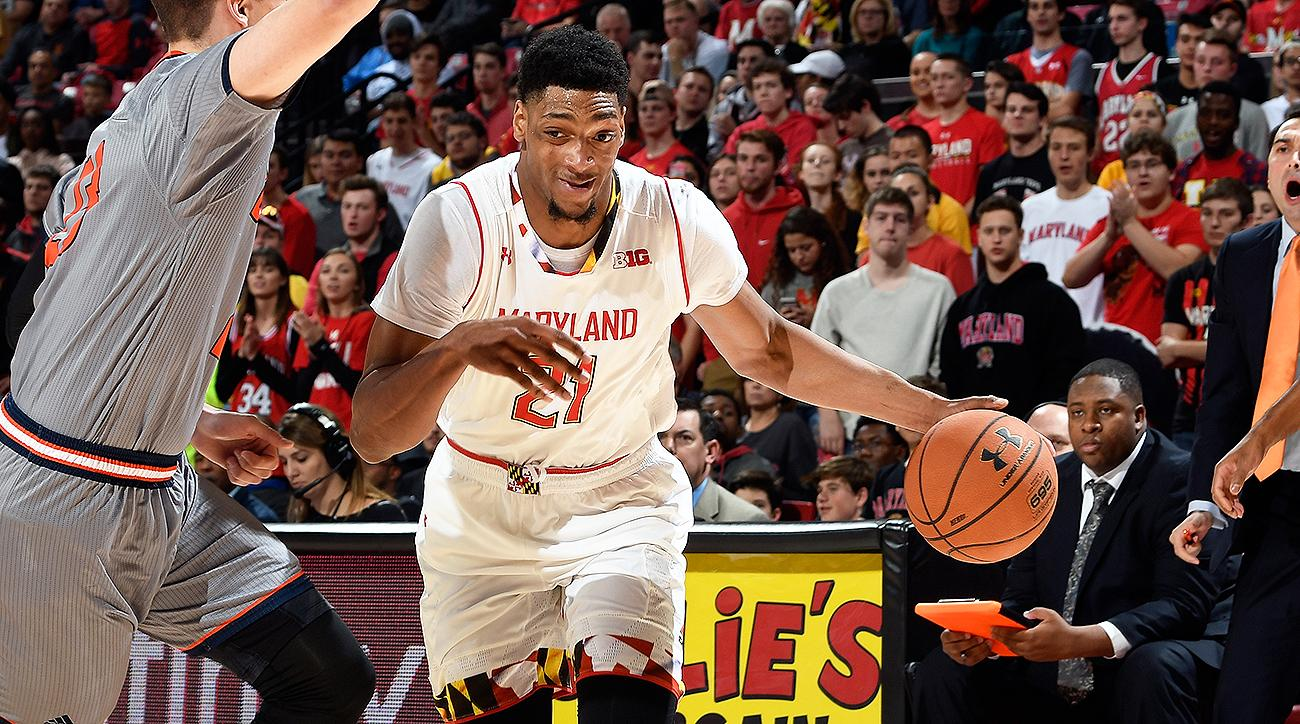 Maryland's Justin Jackson out for rest of season with shoulder injury