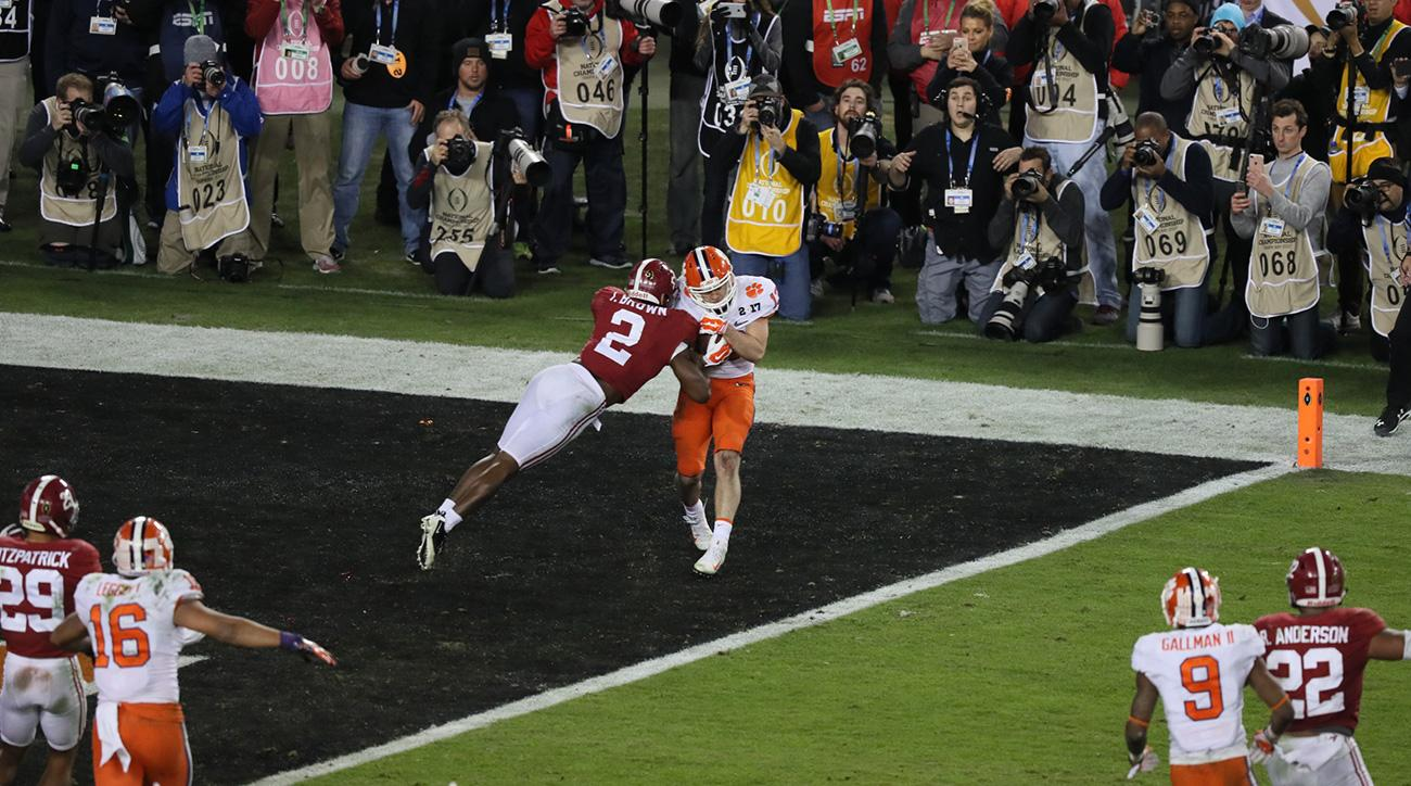 Hunter Renfrow: Clemson's unlikely ultimate weapon against Alabama