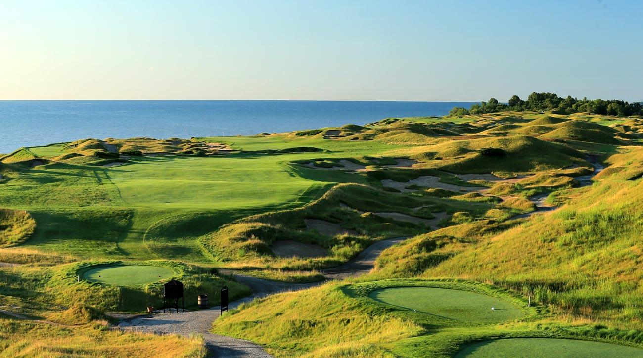 Whistling Straits golf course, Pete Dye
