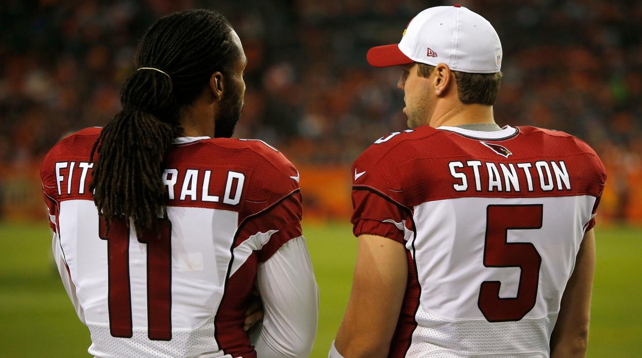 Fitzgerald: Cardinals QB Drew Stanton played two weeks with torn ACL