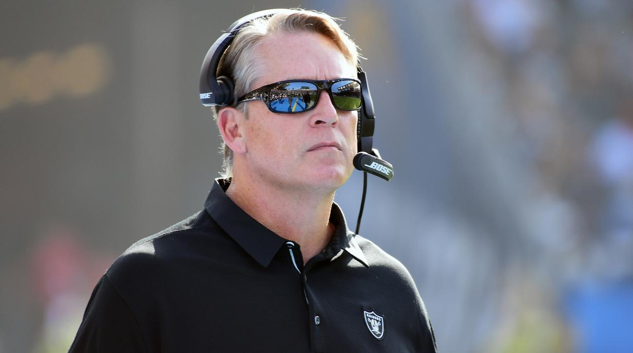 Raiders fire Jack Del Rio; is Jon Gruden next up? class=