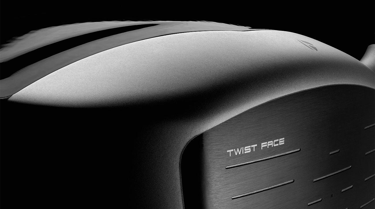 TaylorMade Twist Face technologoy