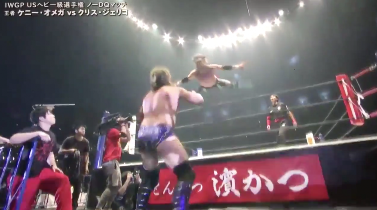 Kenny Omega defeats Chris Jericho at NJPW's Wrestle Kingdom 12
